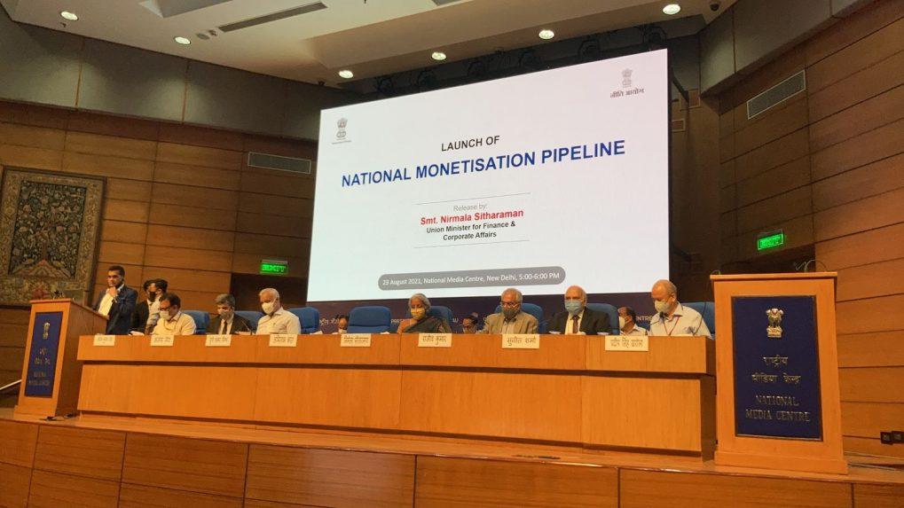 Nirmala Sitharaman launches the National Monetisation Pipeline | திருமதி நிர்மலா சீதாராமன் தேசிய பணமாக்கல் ஆதார வழிமுறைகளை அறிமுகப்படுத்தினார் |_40.1