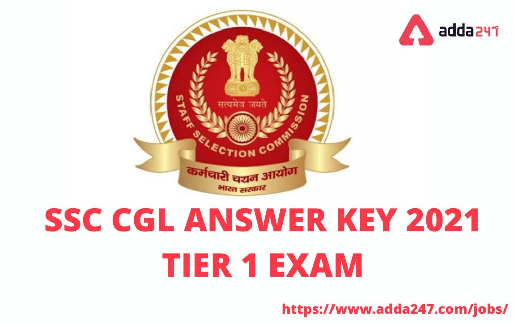 SSC CGL அடுக்கு 1 2021 விடைக்குறிப்பு வெளியீடு | SSC CGL Tier 1 2021 Answer Key Out |_40.1