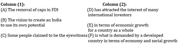 English language quiz For IBPS Clerk pre [6 September 2021] |_70.1