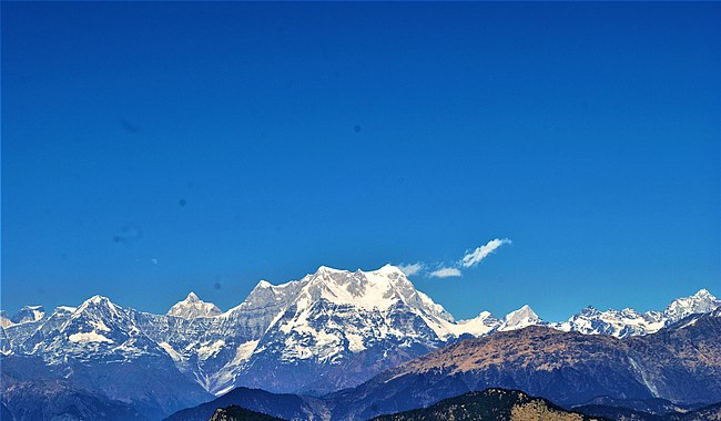The most important mountain peaks in India |_130.1