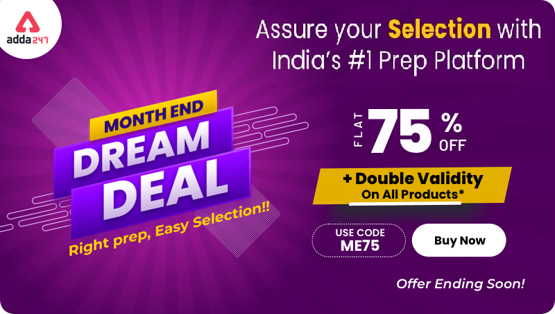 Month End Double Validity bonanza Offer : Flat 75% Off + Double Validity Offer On All Products |_40.1