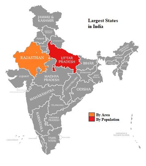 இந்தியாவின் மிகப்பெரிய மாநிலம் | Largest State of India for TNPSC |_50.1
