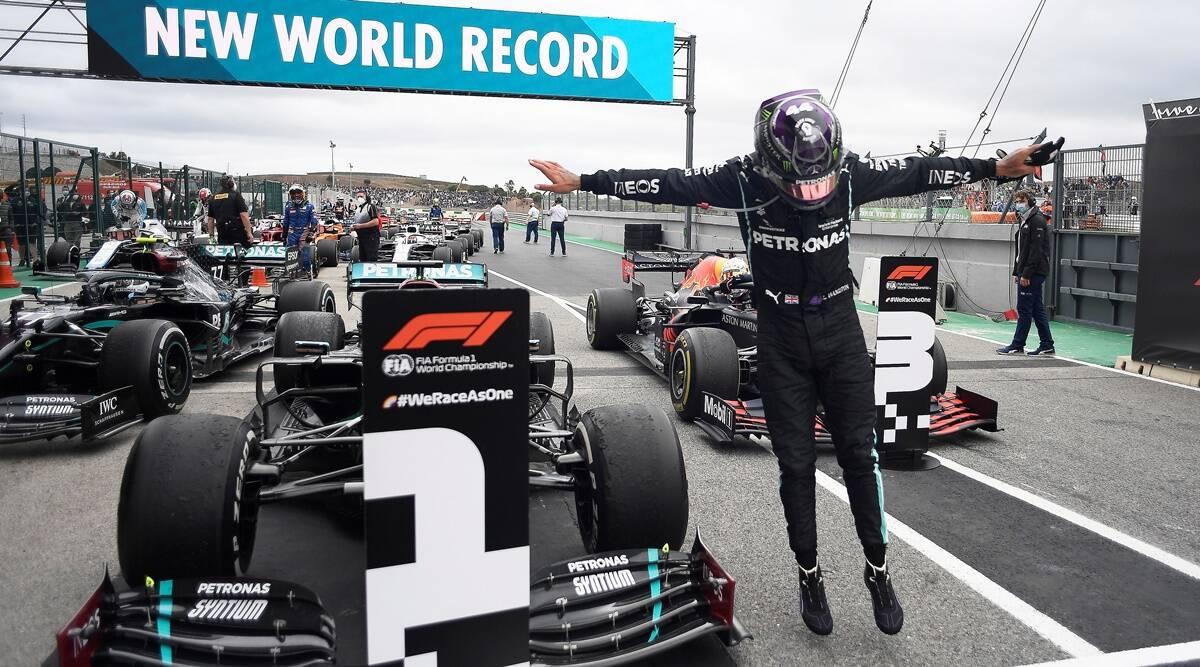 Lewis Hamilton wins Portuguese Grand Prix   పోర్చుగీస్ గ్రాండ్ ప్రి లో విజేతగా నిలిచిన లూయిస్ హామిల్టన్  _40.1