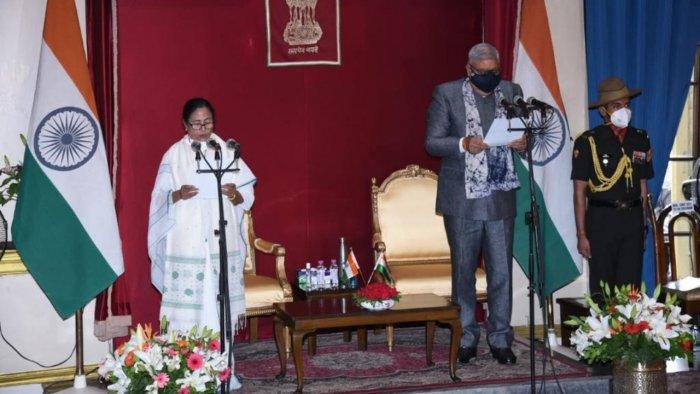 Mamata Banerjee takes oath as West Bengal CM for the 3rd consecutive time | వరుసగా 3వసారి పశ్చిమ బెంగాల్ CM గా ప్రమాణ స్వీకారం చేసిన మమతా బెనర్జీ |_40.1