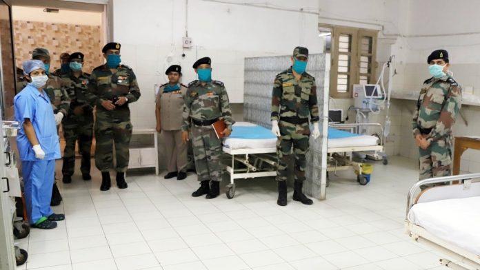 Indian Army sets up Covid Management Cell for real time response   తక్షణమే ప్రతిస్పందించే విధంగా COVID మేనేజ్మెంట్ సెల్ ను ప్రారంభించిన భారత సైన్యం  _40.1