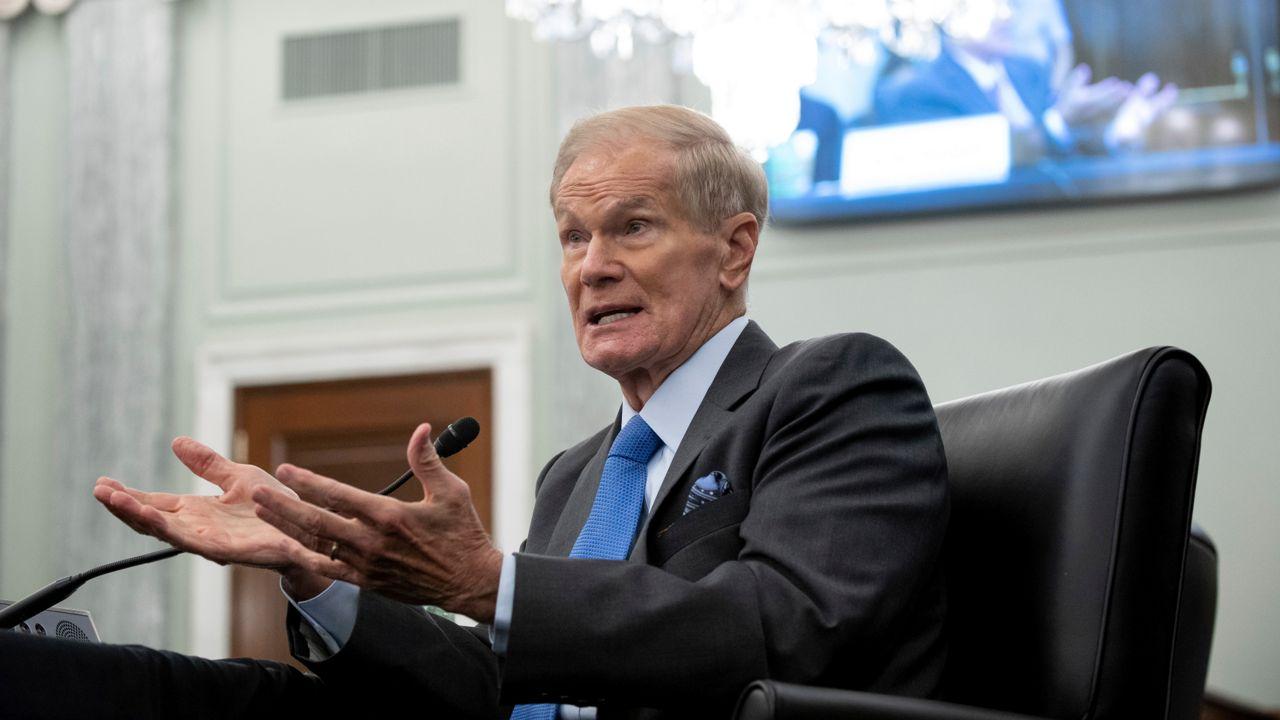 Former Senator Bill Nelson Sworn in as the 14th NASA Administrator | నాసా 14 వ అడ్మినిస్ట్రేటర్ గా బాధ్యతలు చేపట్టిన మాజీ సెనేటర్ బిల్ నెల్సన్ |_40.1