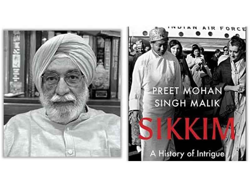 "A book titled ""Sikkim: A History of Intrigue and Alliance"" released   ""సిక్కిం: ఏ హిస్టరీ అఫ్ ఇంట్రీగ్ అండ్ అల్లైన్స్"" పేరుతో పుస్తకాన్ని విడుదల చేసారు  _40.1"