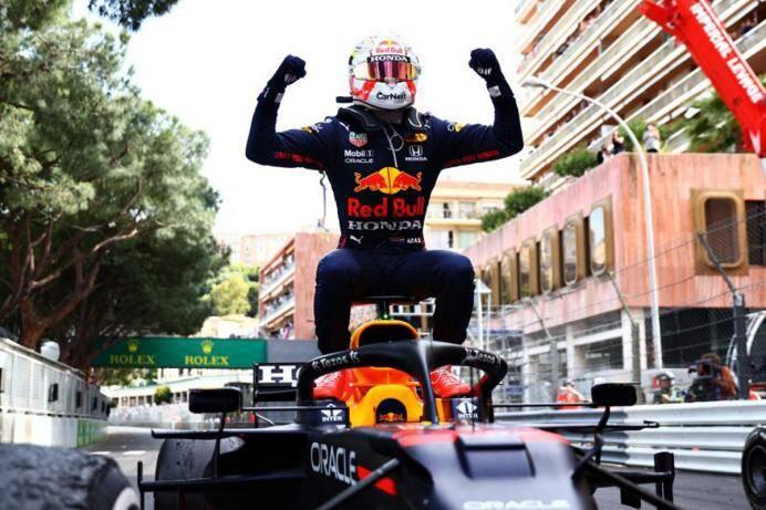 Red Bull's Max Verstappen wins Monaco Grand Prix 2021 | 2021 మొనాకో గ్రాండ్ ప్రిక్స్ ను గెలుచుకున్న రెడ్ బుల్ మాక్స్ వెర్స్టాపెన్ |_40.1