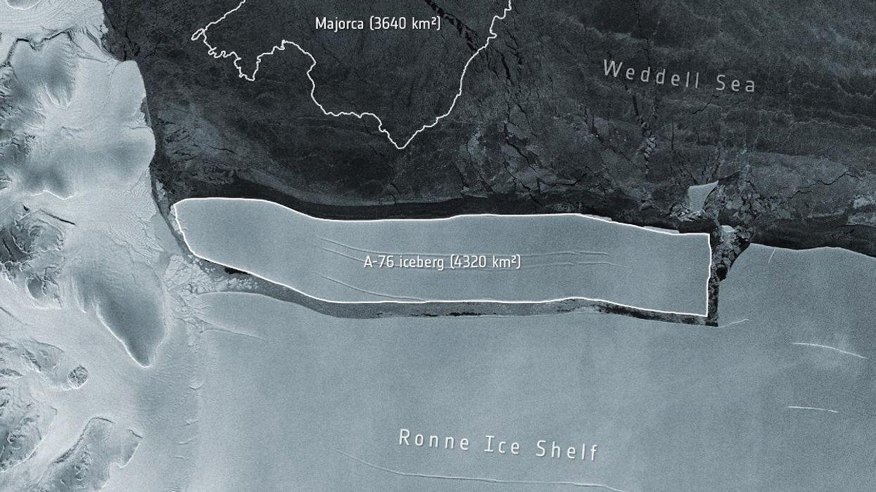 World's largest iceberg breaks off from Antarctica | అంటార్కిటికా నుండి వేరుపడిన ప్రపంచంలోనే అతిపెద్ద మంచుకొండ |_40.1