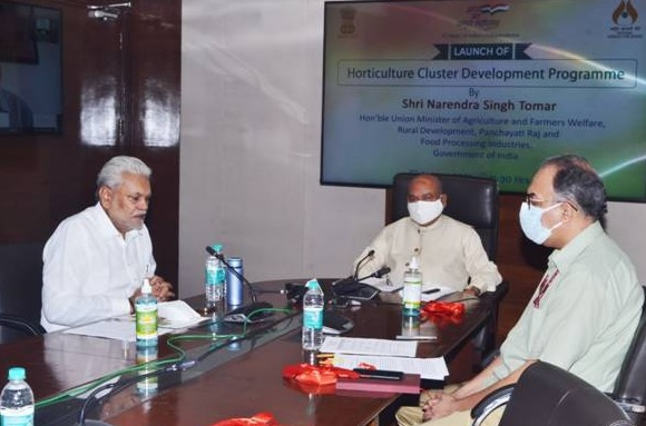 Narendra Singh Tomar launches Horticulture Cluster Development Programme | హార్టికల్చర్ క్లస్టర్ డెవలప్ మెంట్ కార్యక్రమాన్ని ప్రారంభించిన నరేంద్ర సింగ్ తోమర్ |_40.1
