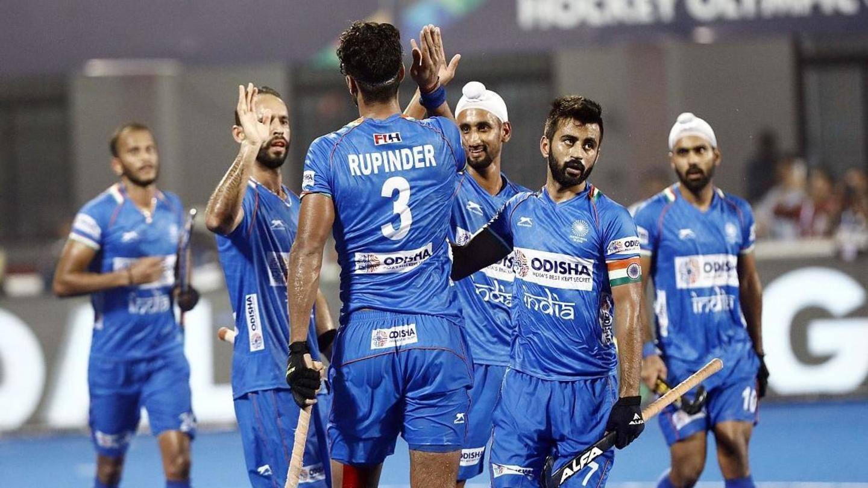FIH world rankings: Indian men's team maintain 4th position   ఎఫ్ ఐహెచ్ ప్రపంచ ర్యాంకింగ్స్ లో భారత పురుషుల జట్టు 4వ స్థానం లో ఉంది  _40.1