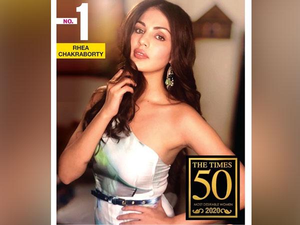 Rhea Chakraborty topped 'The Times 50 Most Desirable Women 2020' | టైమ్స్ 50 మోస్ట్ డిజైరబుల్ ఉమెన్ 2020 జాబితాలో అగ్రస్థానం లో నిలిచిన రియా చక్రవర్తి |_40.1