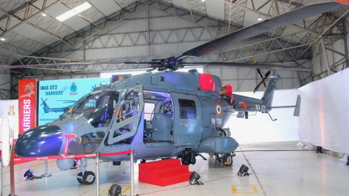Indian Navy inducted three ALH MK III advanced light helicopters | భారత నౌకాదళం మూడు ALH MK III అధునాతన లైట్ హెలికాప్టర్లను సమకూర్చుకుంది. |_40.1