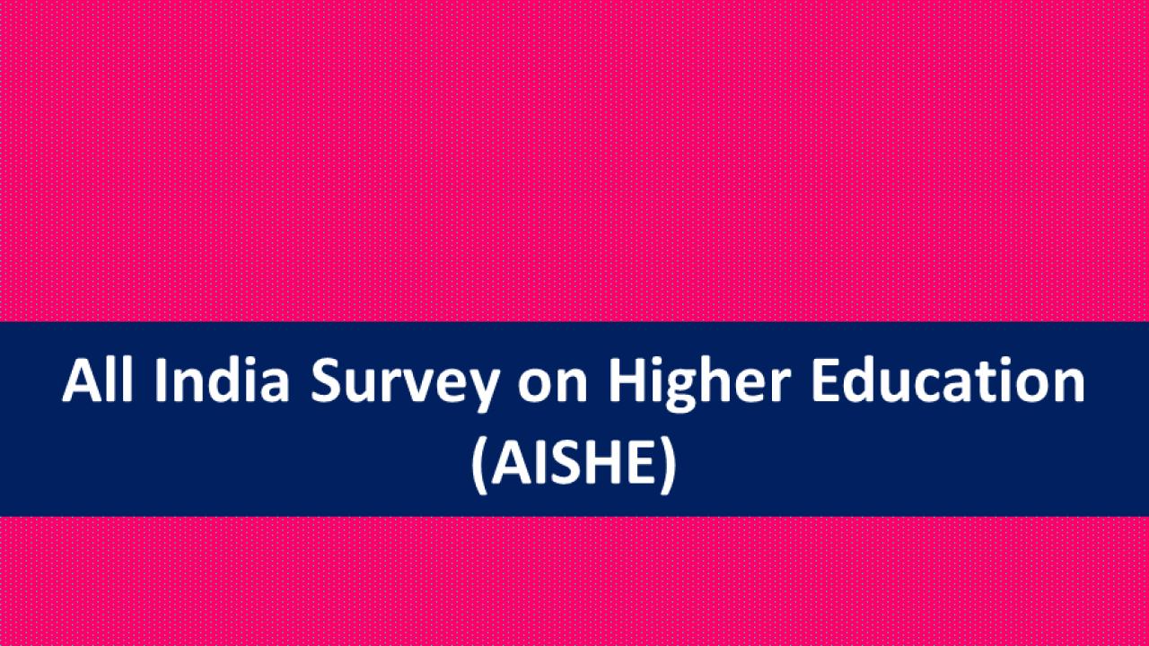 AISHE 2019-20 report released by Union Education Minister   AISHE 2019-20 నివేదికని విడుదల చేసిన కేంద్ర విద్యా శాఖామంత్రి  _40.1