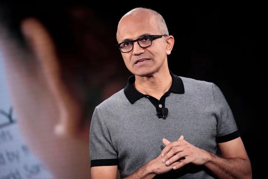 Microsoft names CEO Satya Nadella as chairman | మైక్రోసాఫ్ట్ చైర్మన్ గా సత్య నాదెళ్ల |_40.1