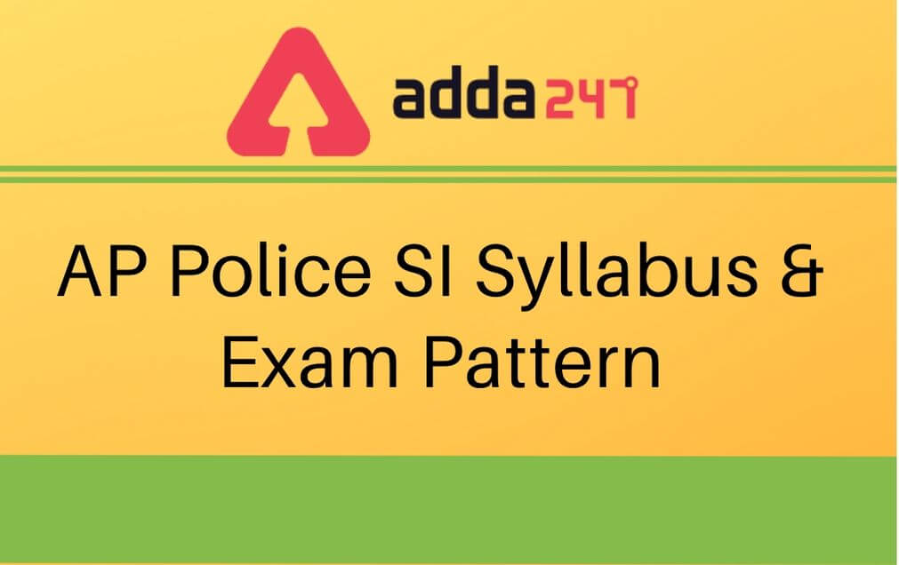 Upcoming AP SI Recruitment Syllabus and Exam Pattern|ఆంధ్రప్రదేశ్ పోలీస్ SI రిక్రూట్మెంట్ త్వరలో విడుదల కానున్నది |_40.1