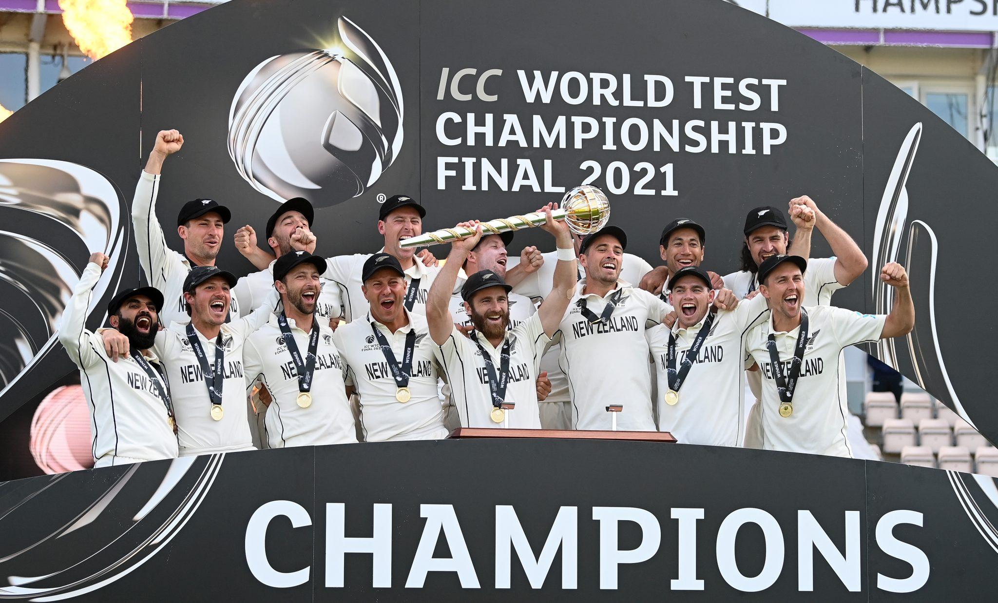New Zealand crowned first ICC World Test Championship   న్యూజిలాండ్ మొట్టమొదటి ప్రపంచ టెస్ట్ ఛాంపియన్ షిప్ గెలుచుకున్నది  _40.1