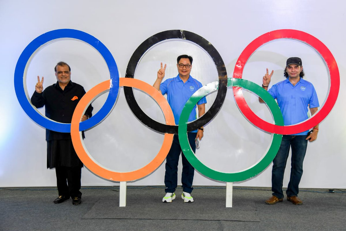 India's official Olympic theme song 'Lakshya Tera Samne Hai' released   భారత అధికారిక ఒలింపిక్ థీమ్ సాంగ్ 'లక్ష్య తేరా సామ్నే హై' విడుదల  _40.1