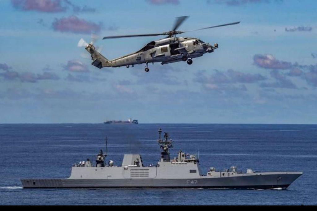 India- USA Navy Passage Exercise in Indian Ocean Region | భారతదేశం-యుఎస్ఎ నేవీ హిందూ మహాసముద్ర ప్రాంతంలో పాసేజ్ అభ్యాసం నిర్వహిస్తున్నాయి |_40.1