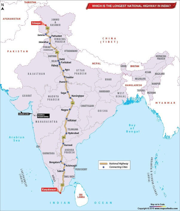National Highways of India in Telugu | భారతదేశంలోని జాతీయ రహదారులు |_50.1