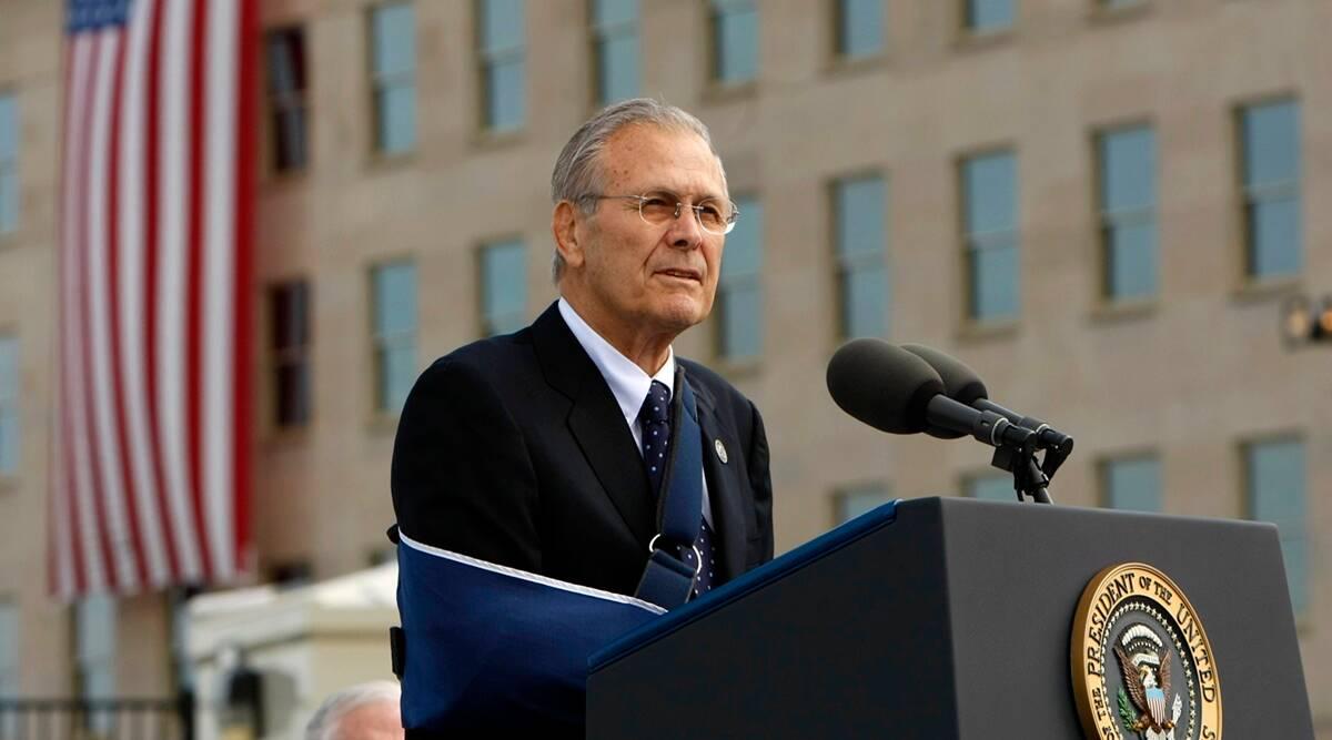 Former US Defence Secretary Donald Rumsfeld passes away | అమెరికా మాజీ రక్షణ కార్యదర్శి డొనాల్డ్ రమ్స్ ఫెల్డ్ మరణించారు |_40.1