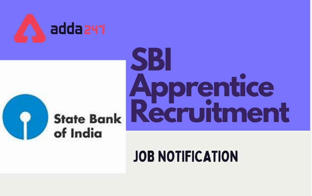 SBI Apprentice Recruitment 2021: Notification Out For 6100 Apprentice Vacancies| SBI అప్రెంటిస్ 2021 నోటిఫికేషన్ విడుదల |_40.1