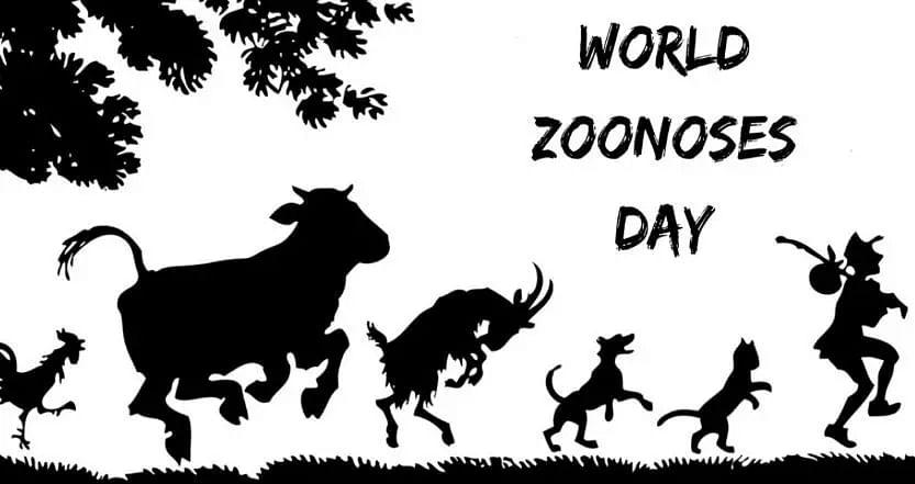 World Zoonoses Day: 6 July   ప్రపంచ జూనోస్ డే: 6 జూలై  _40.1