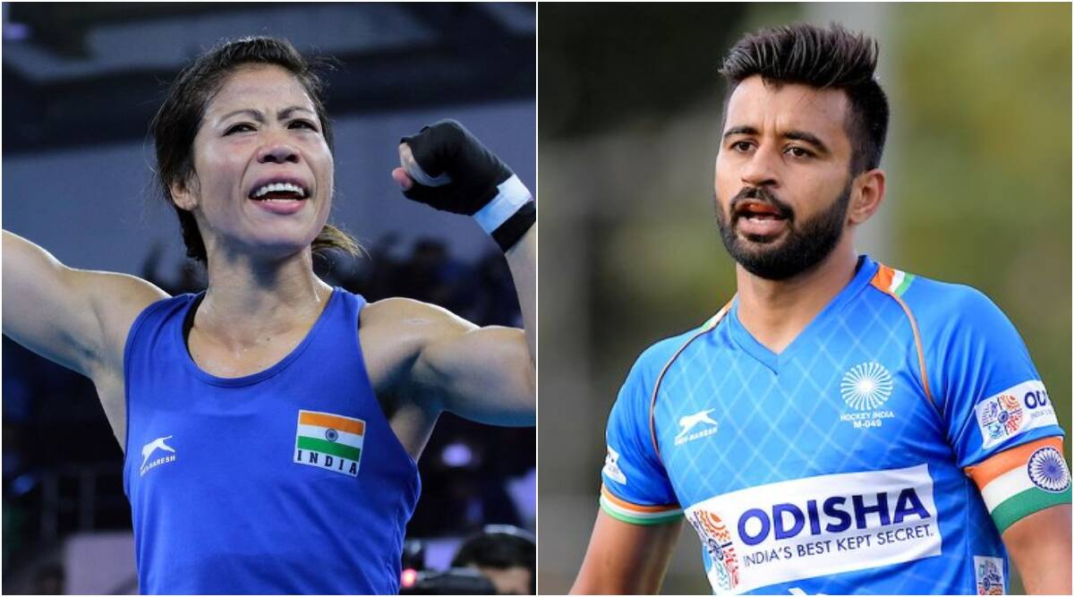 Mary Kom, Manpreet Singh to be India's flag-bearers at Tokyo Olympics | టోక్యో ఒలింపిక్స్ ప్రారంభోత్సవంలో భారత జెండా మోసేవారిగా మేరీ కోమ్ & మన్ ప్రీత్ సింగ్ ఉంటారని IOA ప్రకటించింది |_40.1