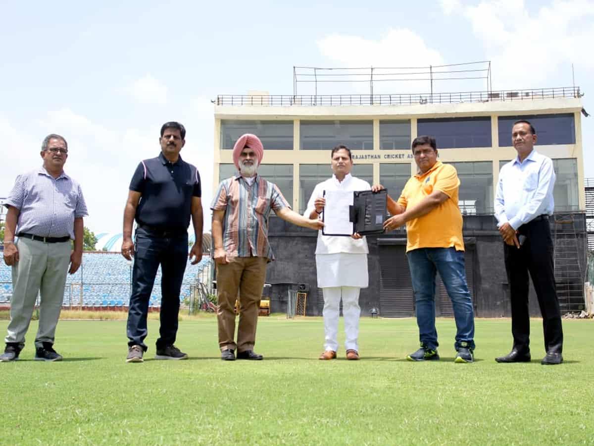 Jaipur to get India's second largest cricket stadium | జైపూర్ లో రెండవ అతి పెద్ద క్రికెట్ స్టేడియం |_40.1