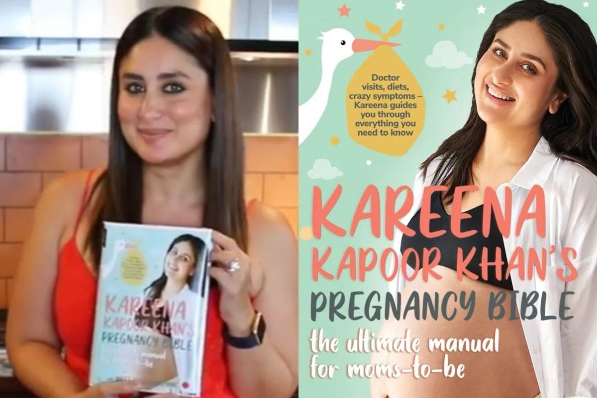 "Kareena Kapoor introduces a book ""The Pregnancy Bible""   ""ప్రేగ్నేన్సి బైబిల్"" అనే పుస్తకాన్ని విడుదల చేసిన కరీనా కపూర్  _40.1"