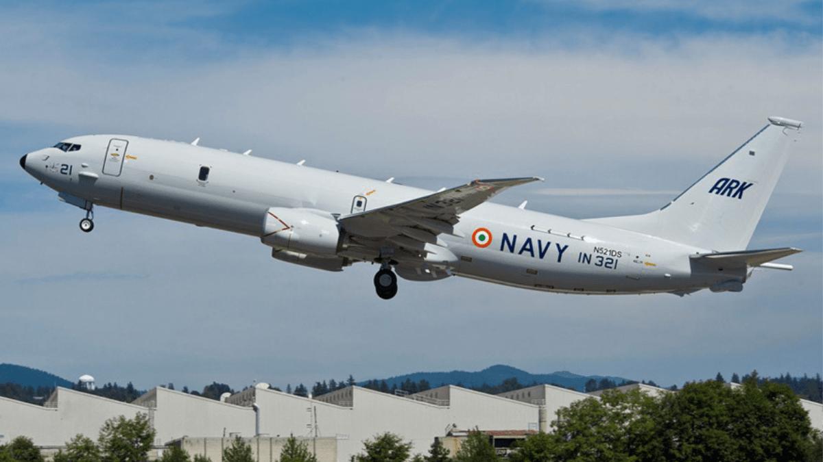 Indian Navy receives 10th Anti-Submarine Warfare Aircraft 'P-8I' | 10వ యాంటీ సబ్ మెరైన్ వార్ ఫేర్ ఎయిర్ క్రాఫ్ట్ P-8I ని అందుకున్న భారత నావికాదళం |_40.1