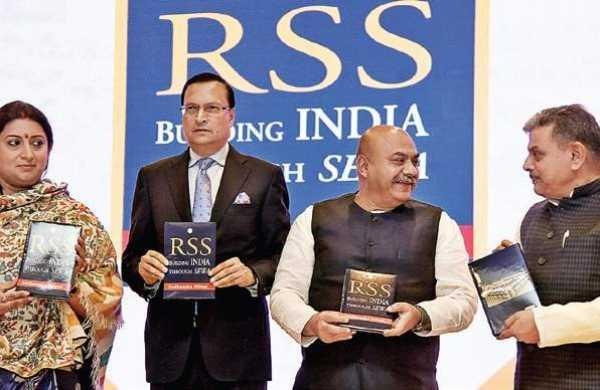 "A book titled ""RSS"" by Sudhanshu Mittal now in Chinese   సుధాన్షు మిట్టల్ రాసిన ""RSS"" అనే పుస్తకం ఇప్పుడు చైనీస్లో విడుదలైంది  _40.1"