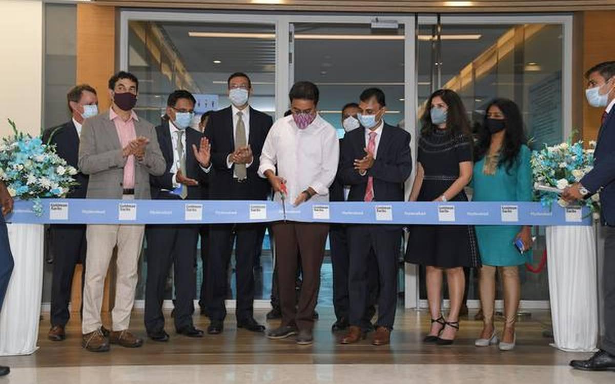 Goldman Sachs open its global centre in Hyderabad   హైదరాబాద్ లో గ్లోబల్ సెంటర్ ను ప్రారంభించిన గోల్డ్ మన్ సాచ్స్  _40.1