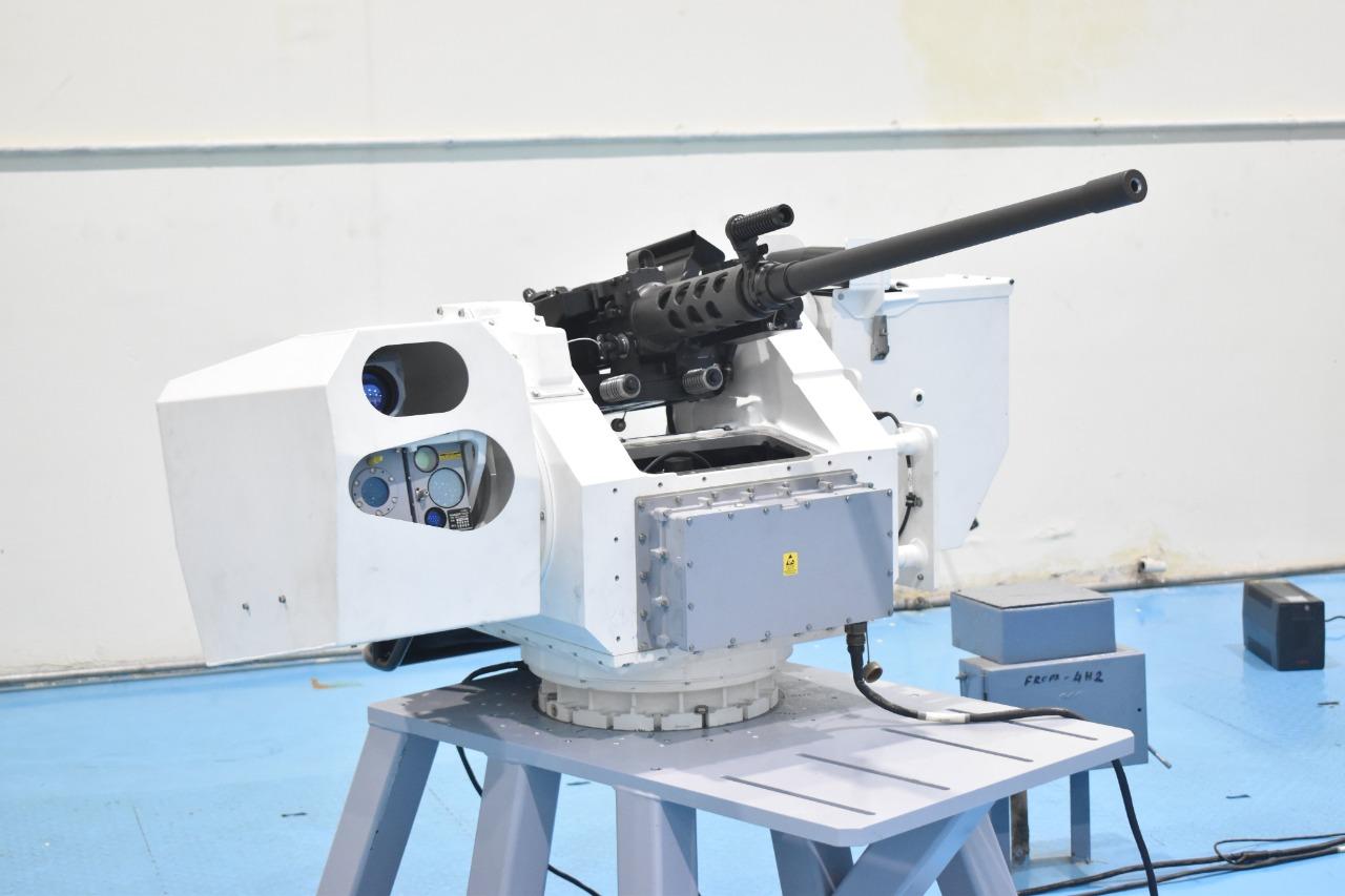 OFT hands delivery of 25 remote control guns to Navy   నేవీకి 25 రిమోట్ కంట్రోల్ గన్లని అందించిన ఓఆఫ్ టి  _40.1