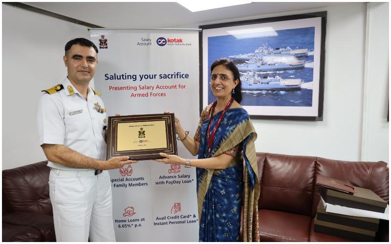 Kotak Mahindra Bank signs MoU with the Indian Navy for salary account | భారత నావికాదళం కోటక్ మహీంద్రాతో అవగాహన ఒప్పందం కుదుర్చుకుంది |_40.1