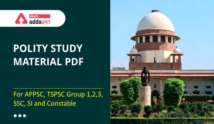 Polity Study Material in Telugu | భారతదేశంలో అత్యవసర నిబంధనలు |_40.1