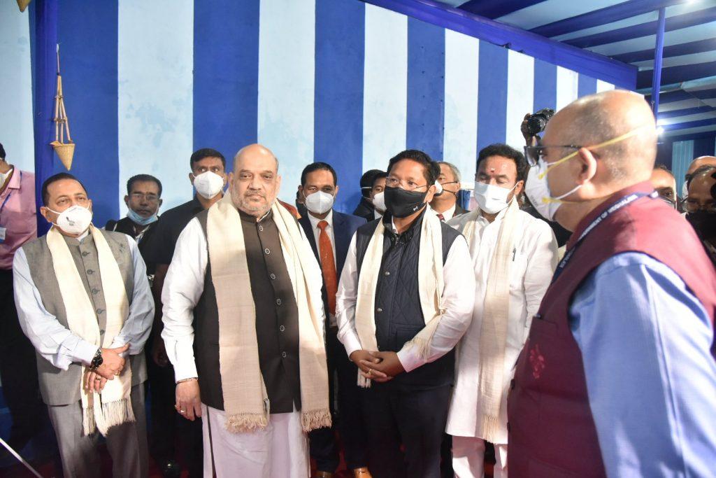 Amit Shah inaugurates Greater Sohra Water Supply Scheme | గ్రేటర్ సోహ్రా వాటర్ సప్లై పథకాన్ని ప్రారంభించిన అమిత్ షా |_40.1
