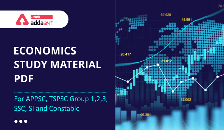 Economics Study Material PDF in Telugu   Planning commission & NITI Aayog   For APPSC, TSPSC Group1,2,3, SSC, SI and Constable  _40.1