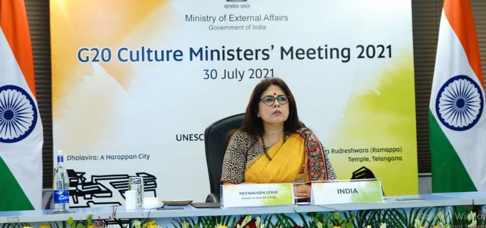 Meenakashi Lekhi leads Indian delegation at G20 Culture Ministers' Meeting | G20 సాంస్కృతిక మంత్రుల సమావేశంలో భారత ప్రతినిధి బృందానికి మీనాక్షి లేఖి నాయకత్వం వహించారు |_40.1