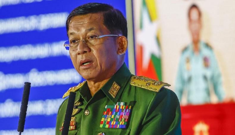 Myanmar Military Chief appointed as interim Prime Minister | మయాన్మార్ ఆపత్కాల ప్రధానిగా ఆ దేశ మిలిటరీ చీఫ్ |_40.1