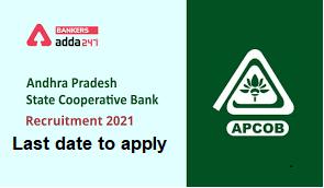 APCOB Recruitment notification 2021 apply online   last date  _40.1