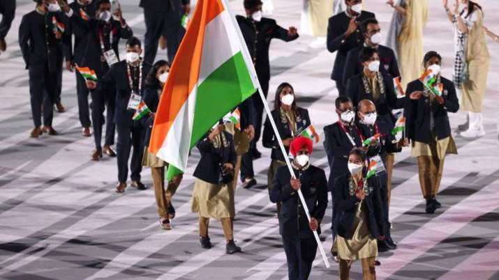 Indian Olympics contingent be Guests at Independence Day  _40.1