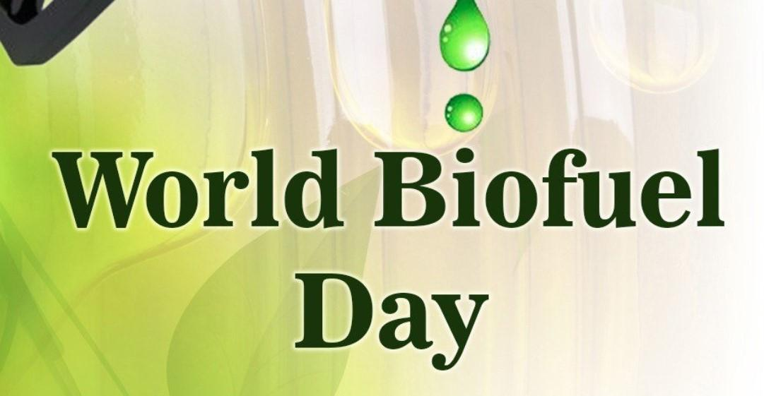 World Biofuel Day | Important Days |_40.1
