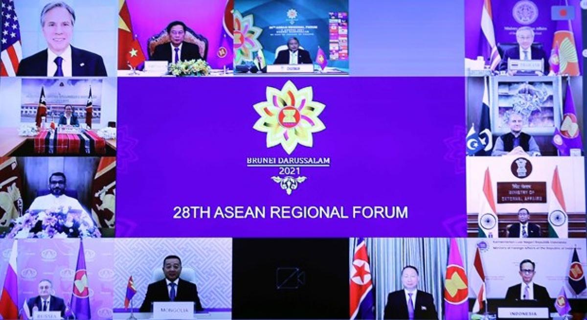 28th ASEAN Regional Forum Ministerial Meeting | 28వ ASEAN ప్రాంతీయ చర్చా మంత్రిత్వ సమావేశం |_40.1