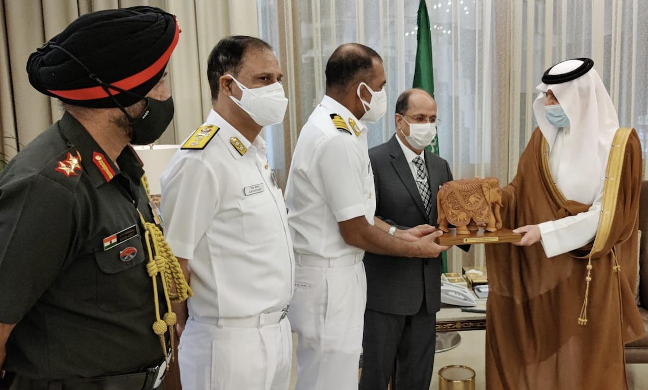 "India & Saudi Arabia set to conduct ""AL-MOHED AL-HINDI 2021"" exercise  _40.1"