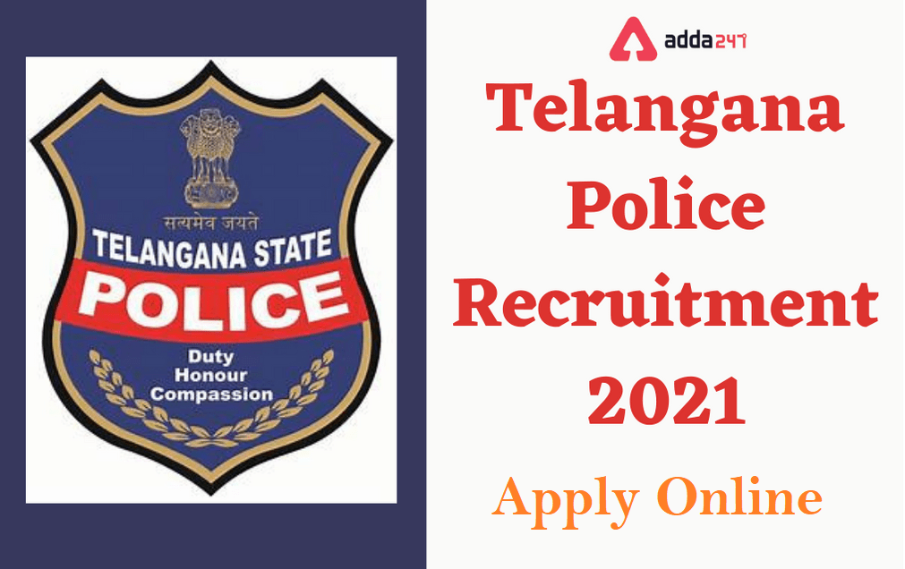 Telangana Police Recruitment 2021   Apply Online   దరఖాస్తు ప్రక్రియ ప్రారంబం  _40.1
