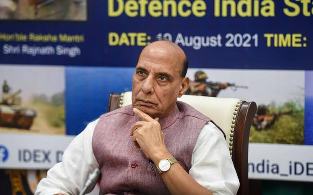 Rajnath Singh launches Defence India Startup Challenge- DISC 5.0  _40.1