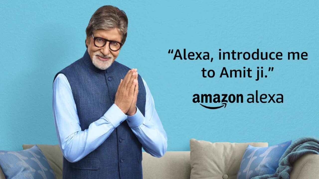 Amazon Alexa Gets Amitabh Bachchan's Voice in India  _40.1