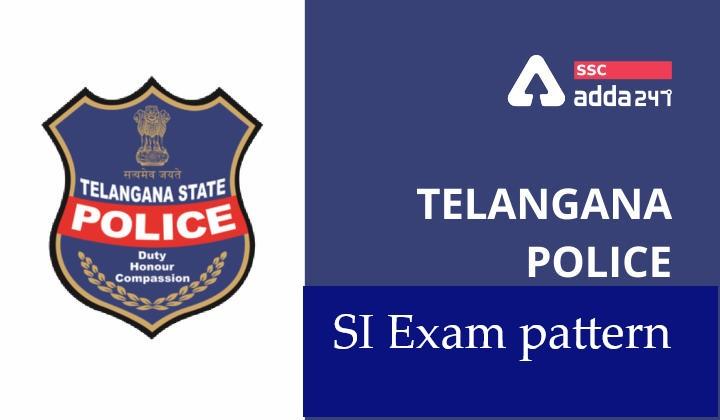 తెలంగాణా పోలీస్ SI పరీక్షా విధానం Telengana Police SI Exam pattern  _40.1