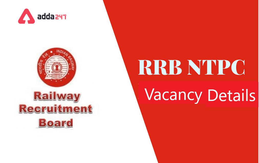 RRB NTPC ఖాళీల వివరాలు   RRB NTPC Vacancy Details for 2021  _40.1